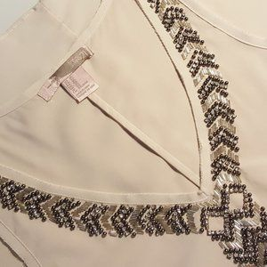 Forever21 Beaded Tank Top